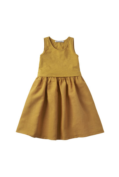 Sleeveless Dress - Spruce Yellow