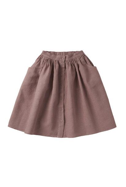 Linen Skirt - Antler