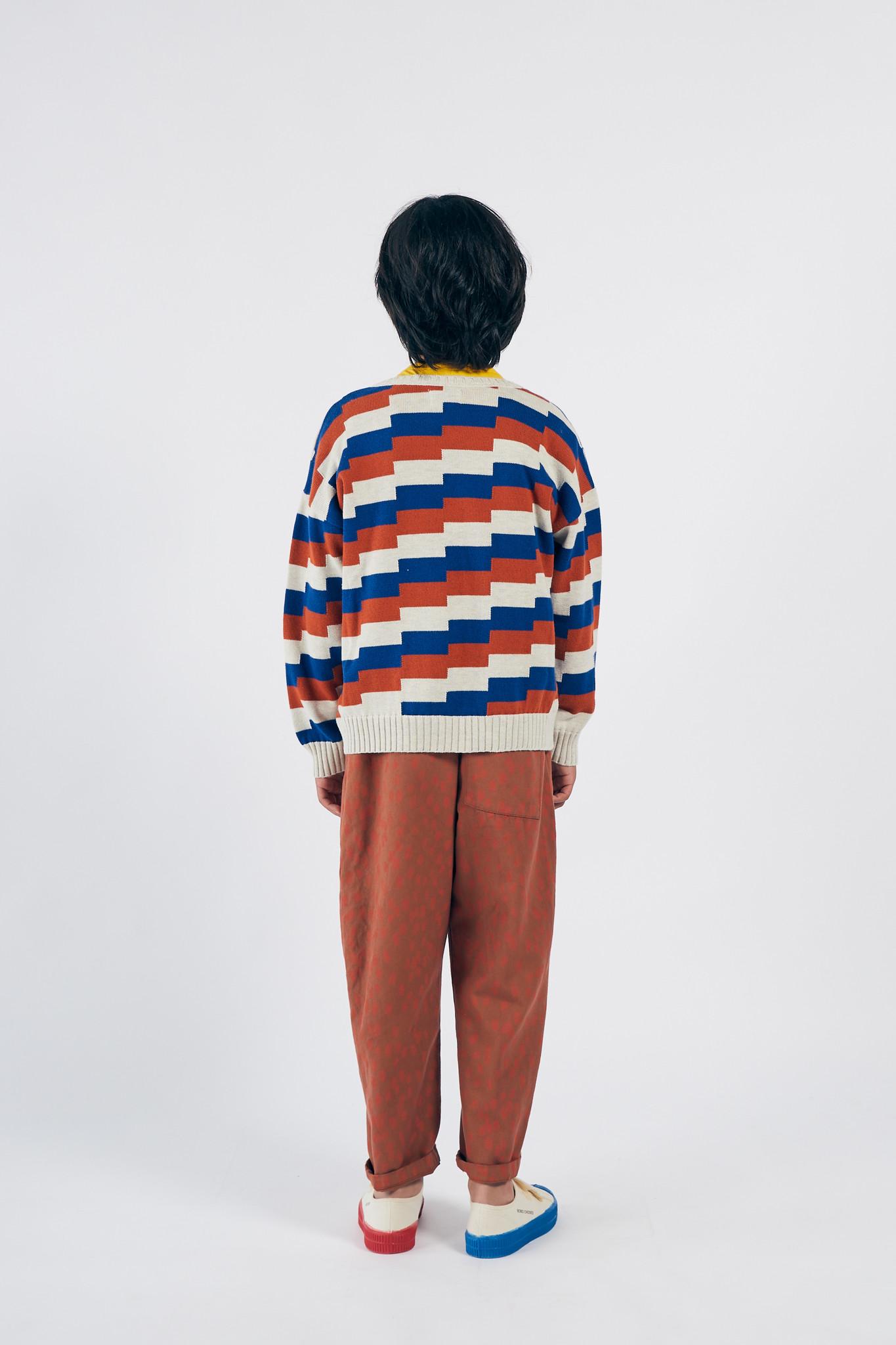 Geometric Knitted Jumper-3