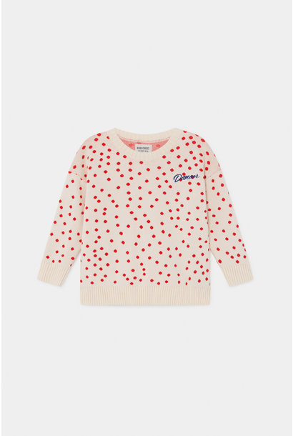 Dots Knitted Jumper