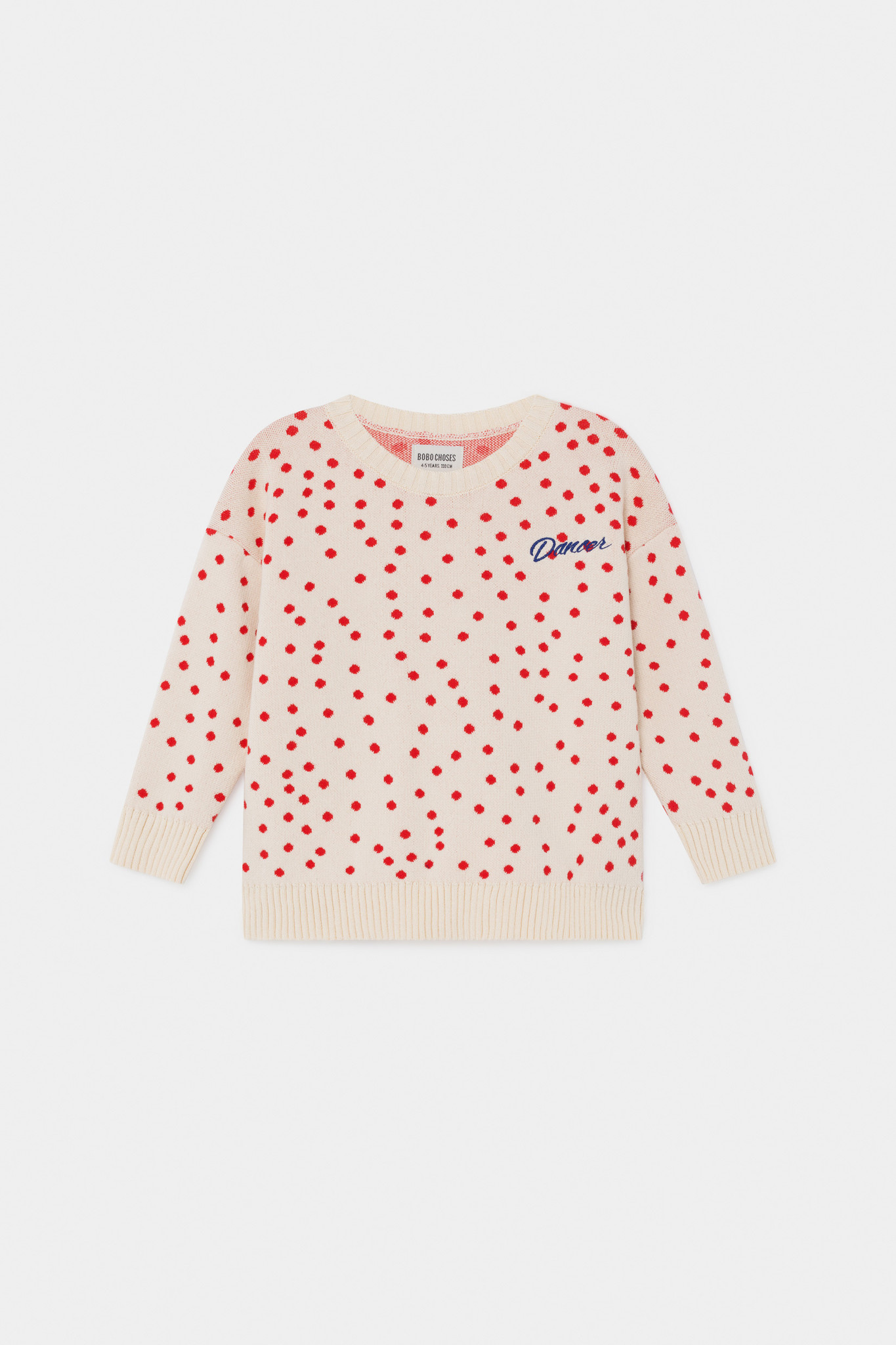 Dots Knitted Jumper-1