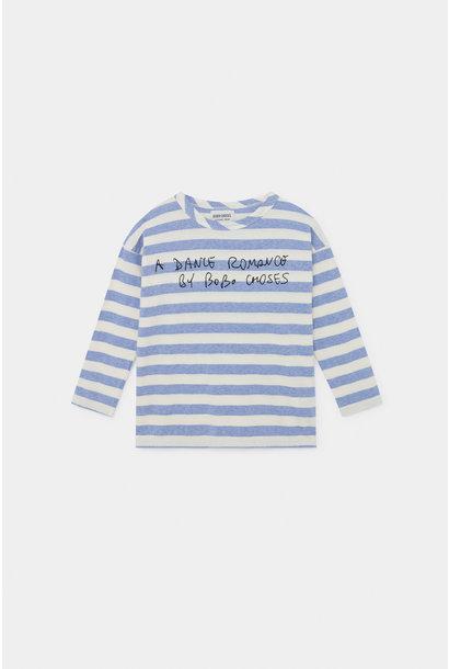 A Dance Romance Stripes Long Sleeve Shirt