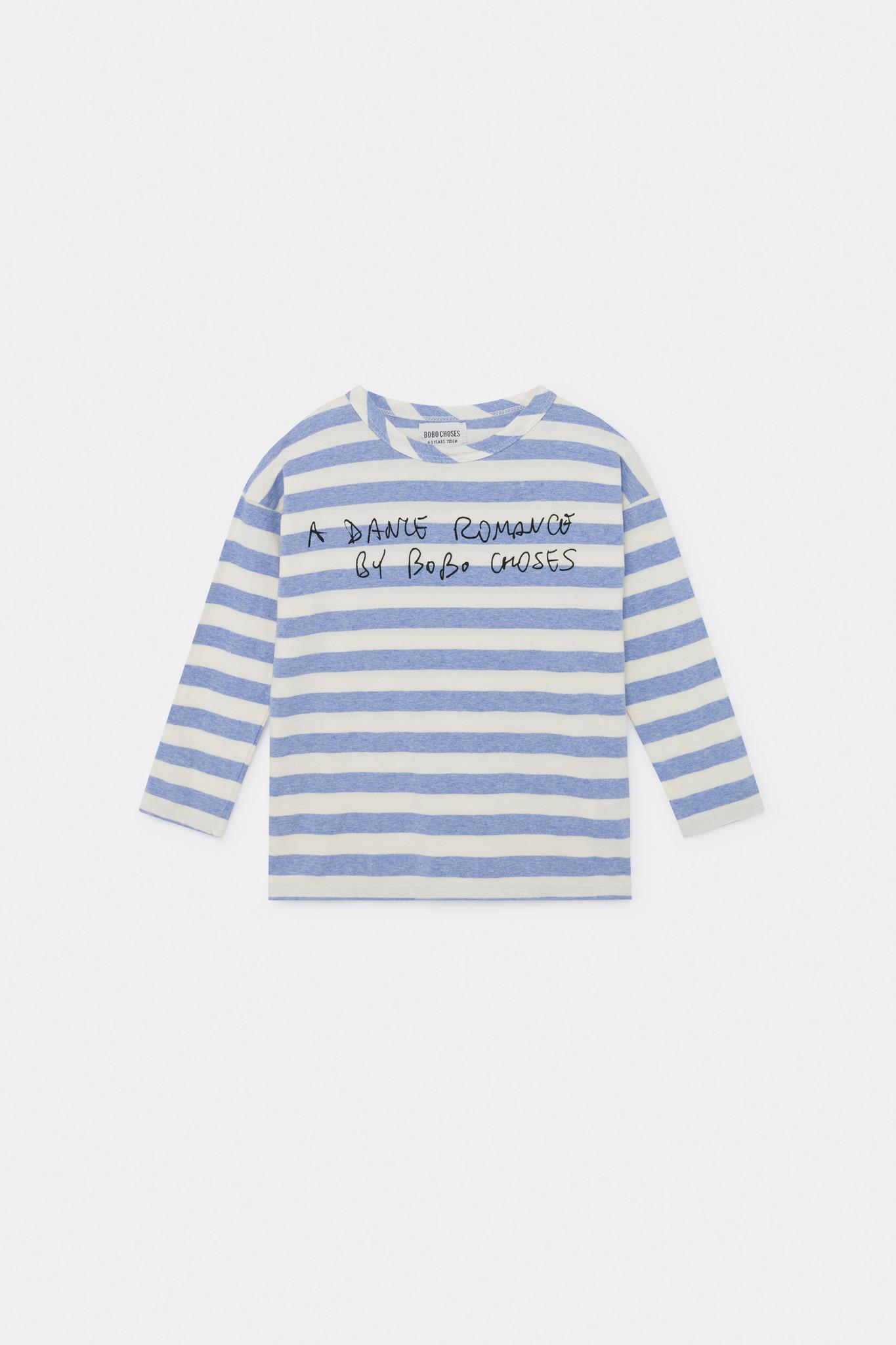A Dance Romance Stripes Long Sleeve Shirt-1