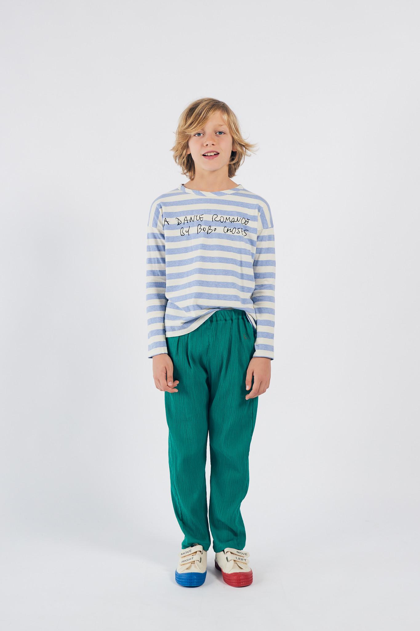 A Dance Romance Stripes Long Sleeve Shirt-2