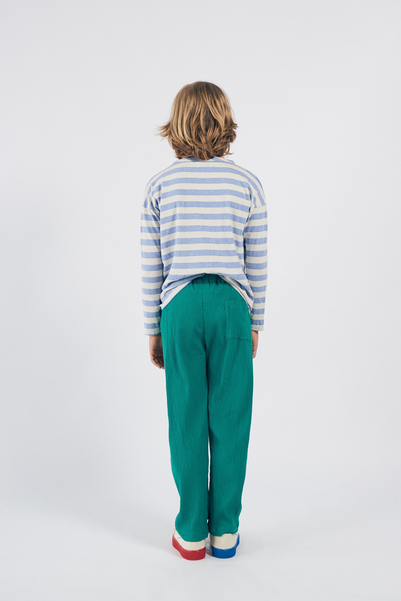 A Dance Romance Stripes Long Sleeve Shirt-3