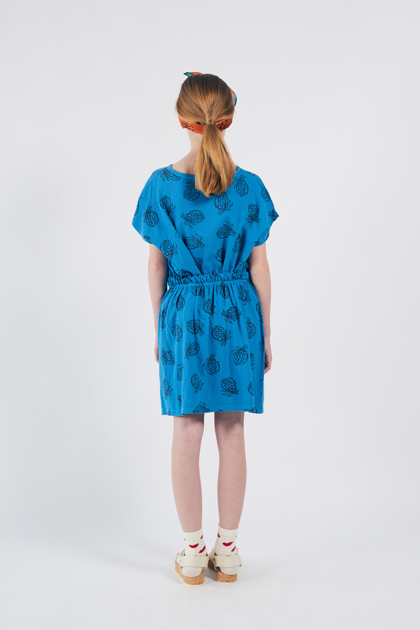 All Over Pineapple Jersey Skirt-4