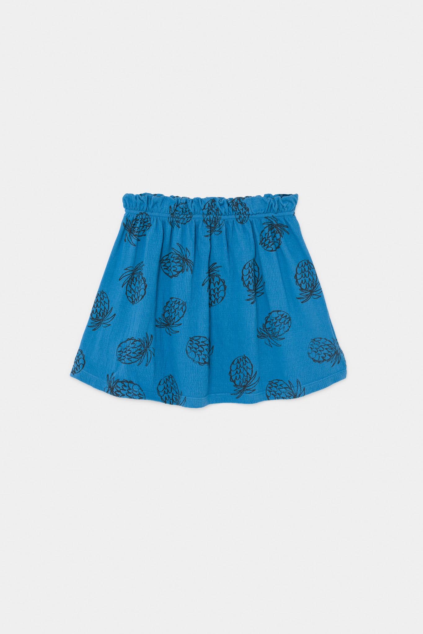 All Over Pineapple Jersey Skirt-1