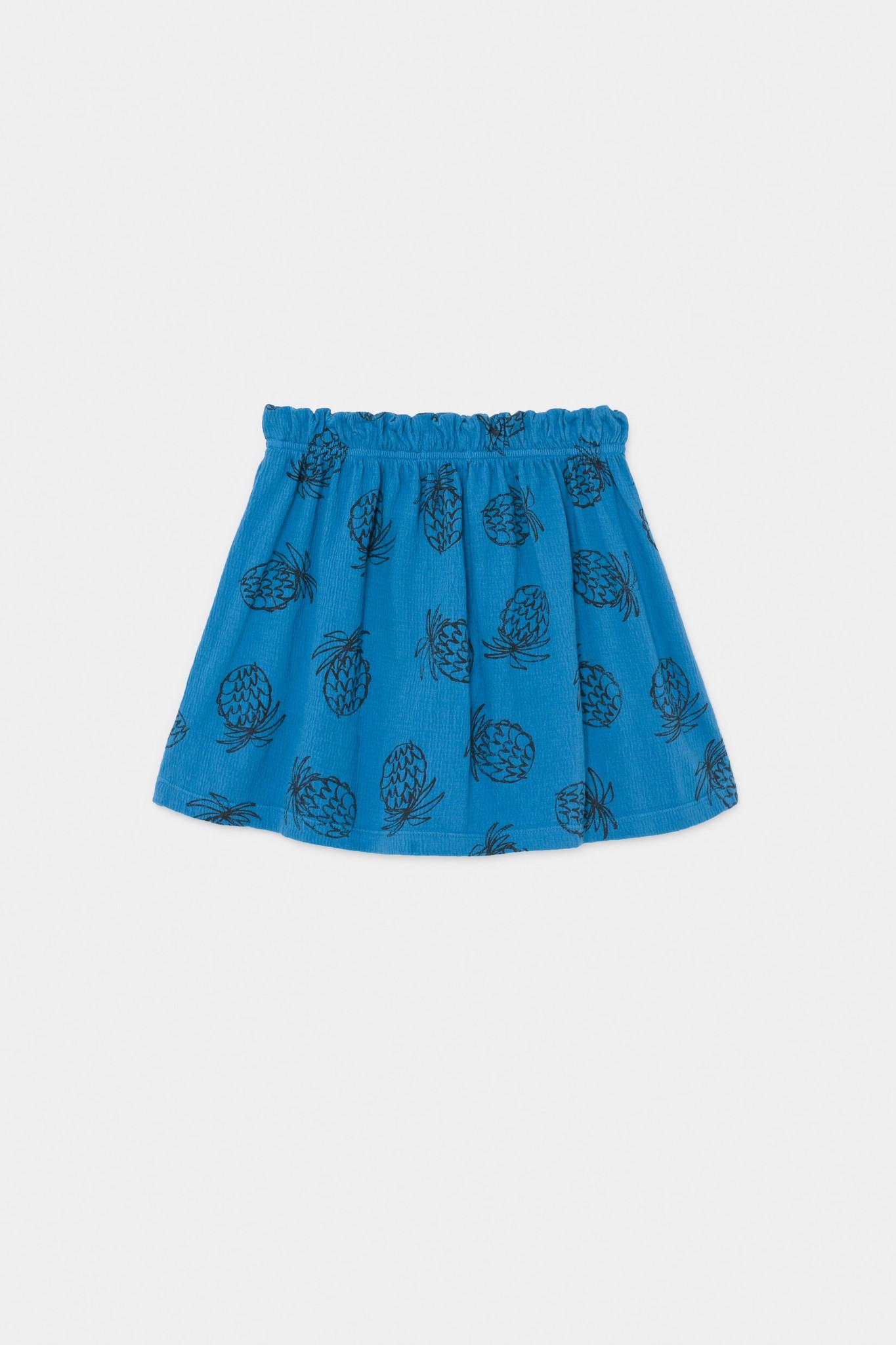 All Over Pineapple Jersey Skirt-3