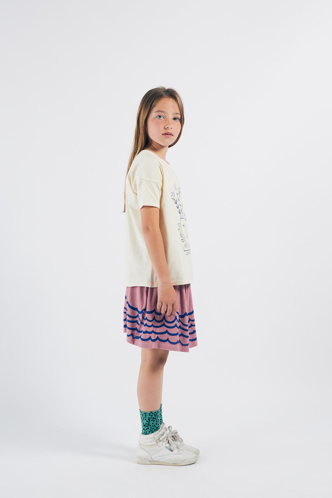 Waves Jersey Skirt-2