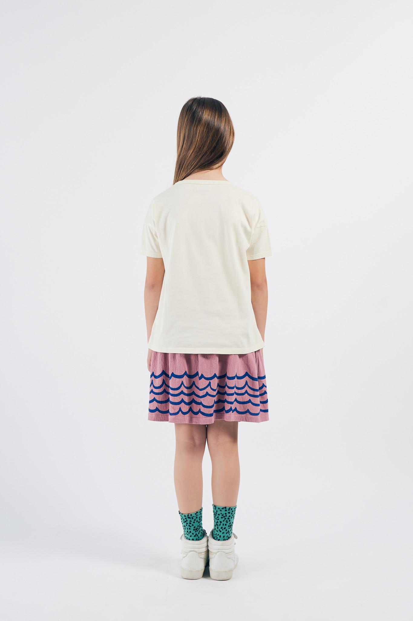 Waves Jersey Skirt-4