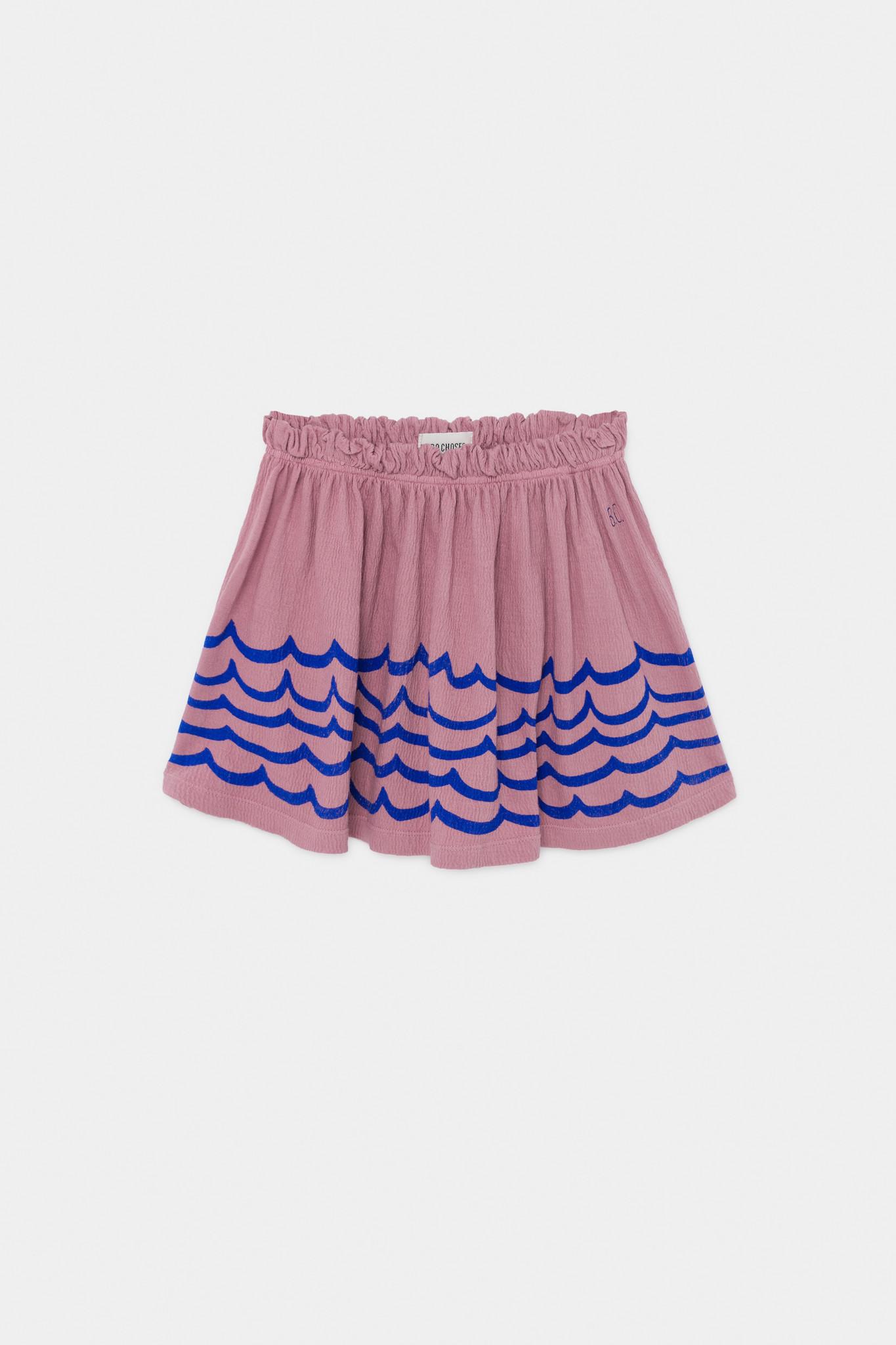 Waves Jersey Skirt-1