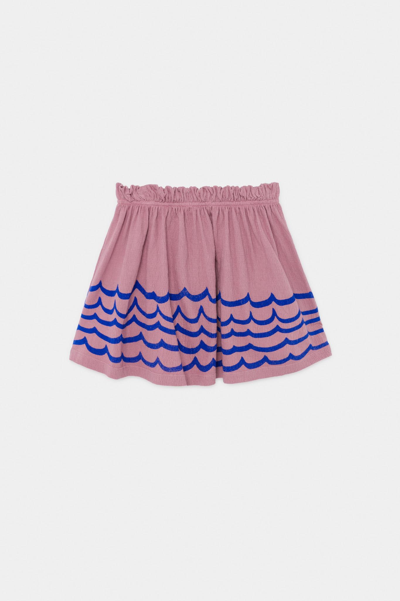 Waves Jersey Skirt-3