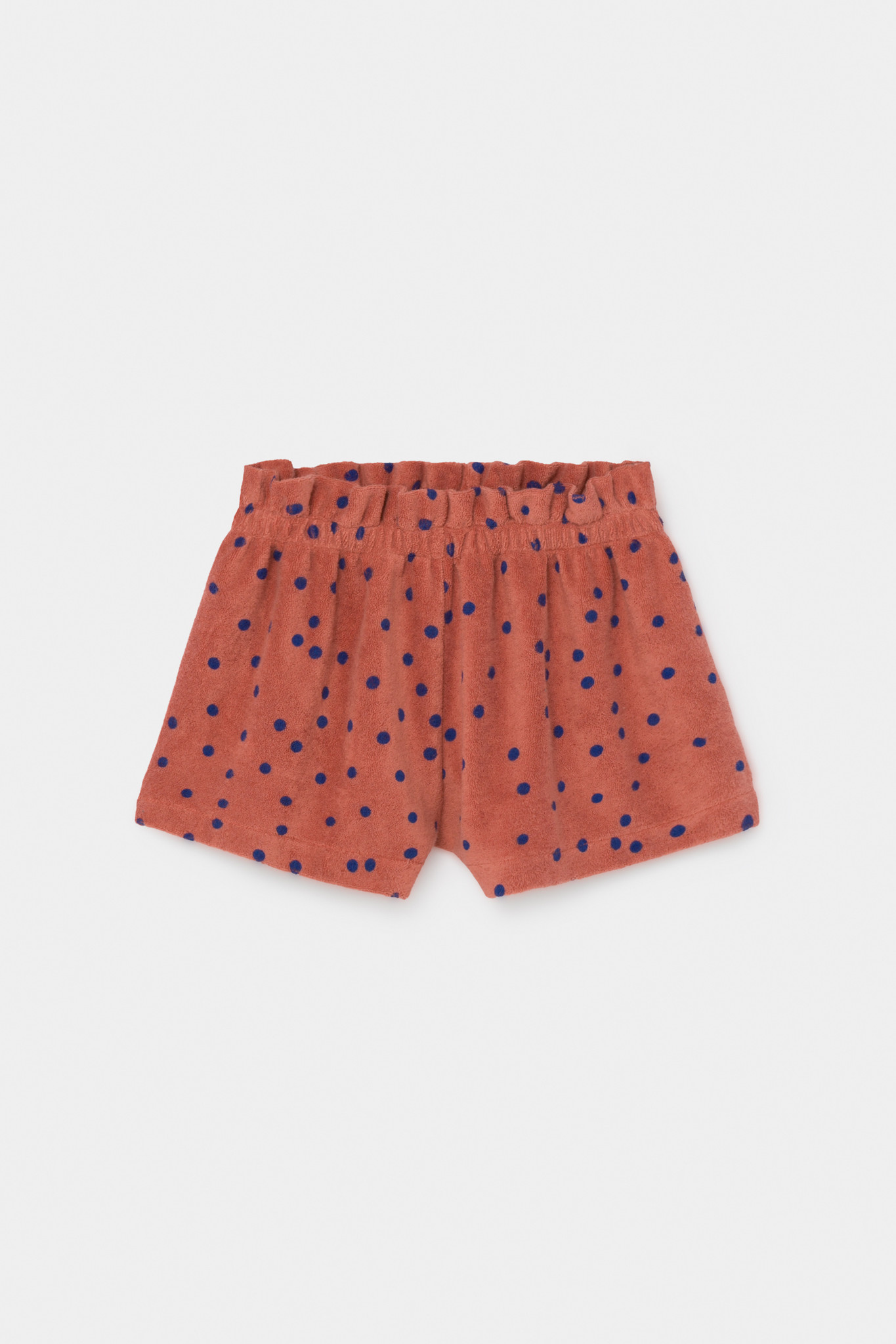 Dots Terry Towel Shorts-1