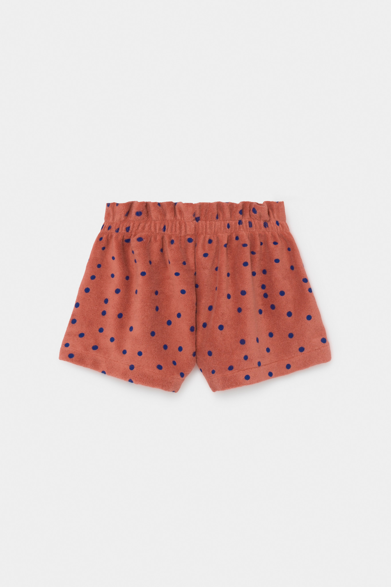 Dots Terry Towel Shorts-3