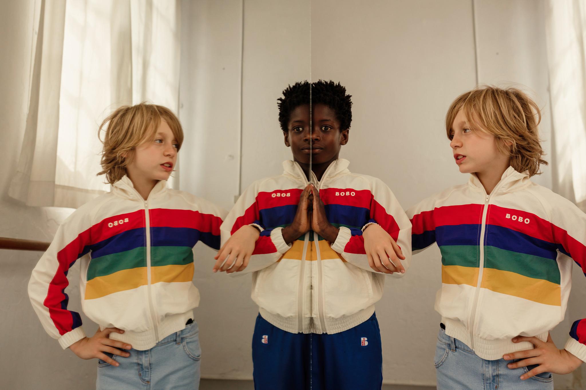 Multicolor Tracksuit Jacket-2