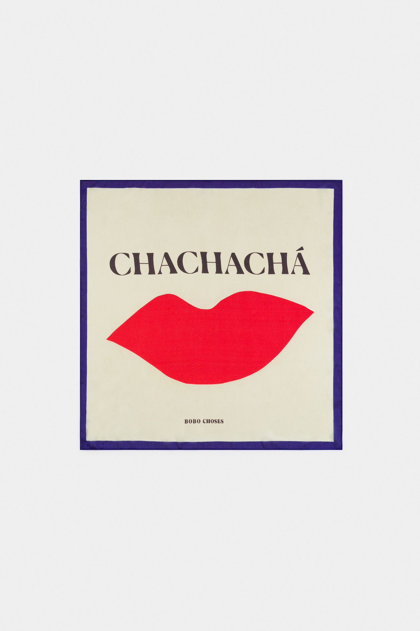 Chachacha Kiss Square Scarf-1