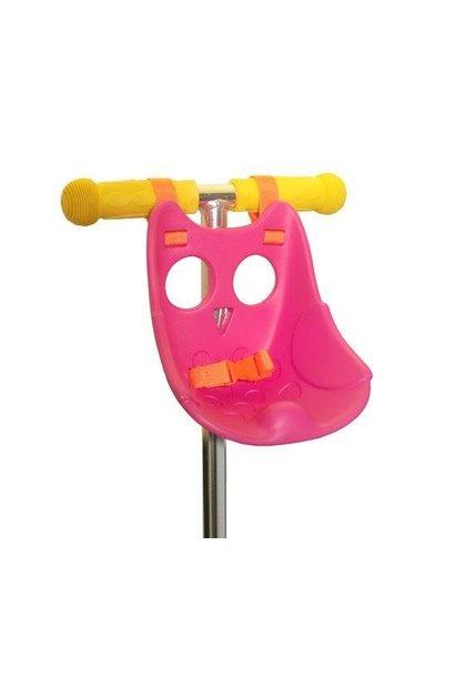 Scootaseatz fietszitje Roze