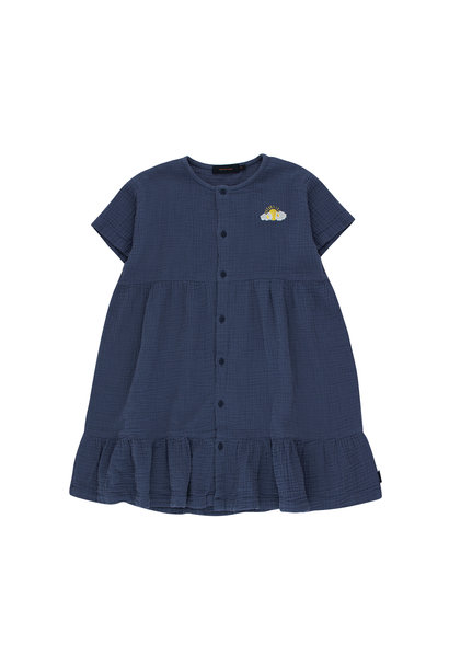 SLEEPY SUN DRESS - Light Navy