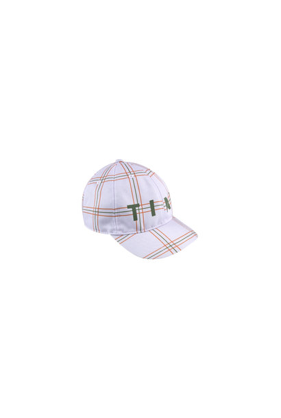 CHECK CAP - Light Lilac / Cinnamon