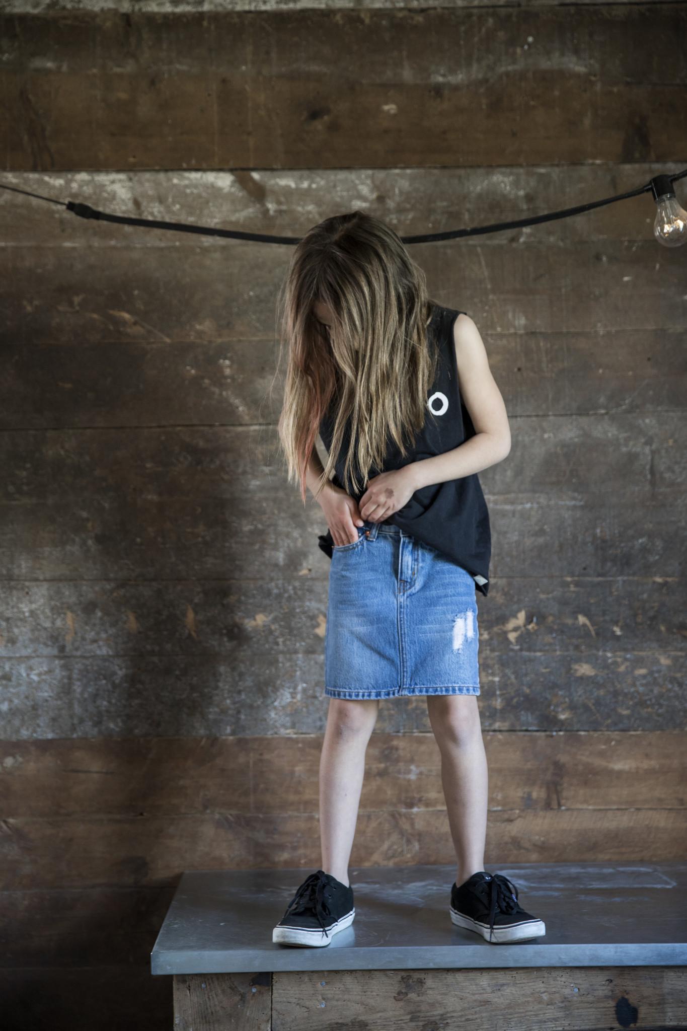 Livy denim skirt-4