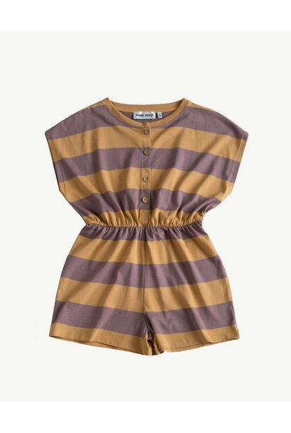 Playsuit - Oak Bull Stripe