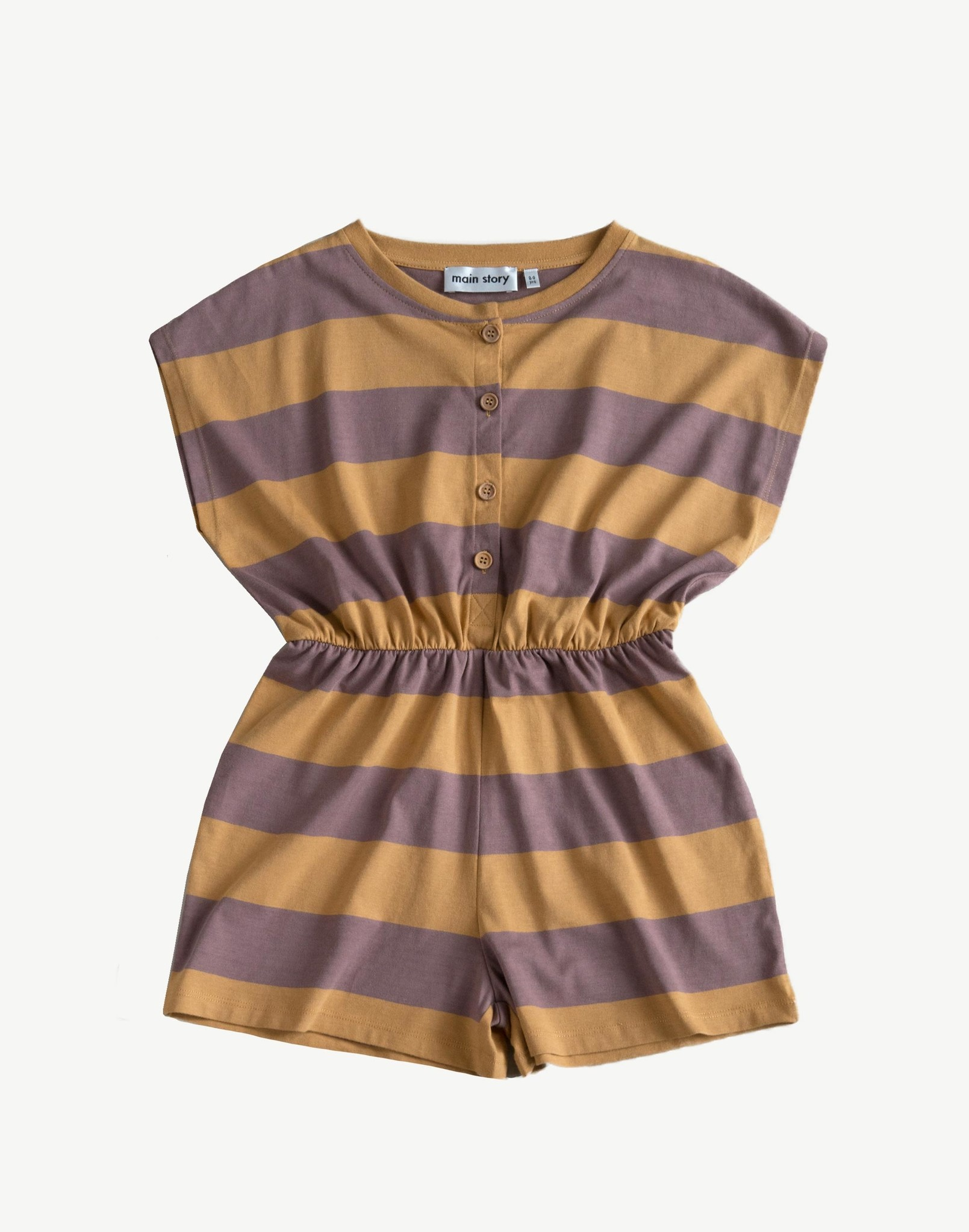 Playsuit - Oak Bull Stripe-1