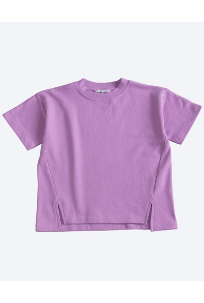 Sweat Tee - Smoky Grape