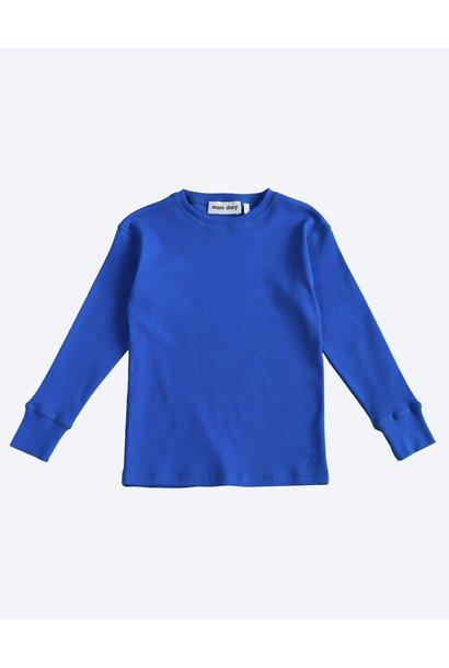 Rib Top - Dazzling Blue