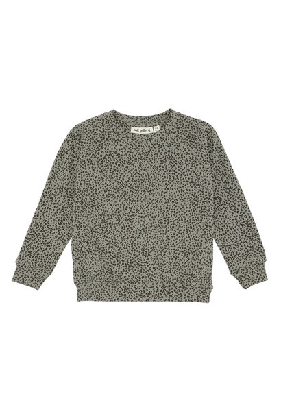 Chaz sweatshirt - Shadow / AOP Leospot