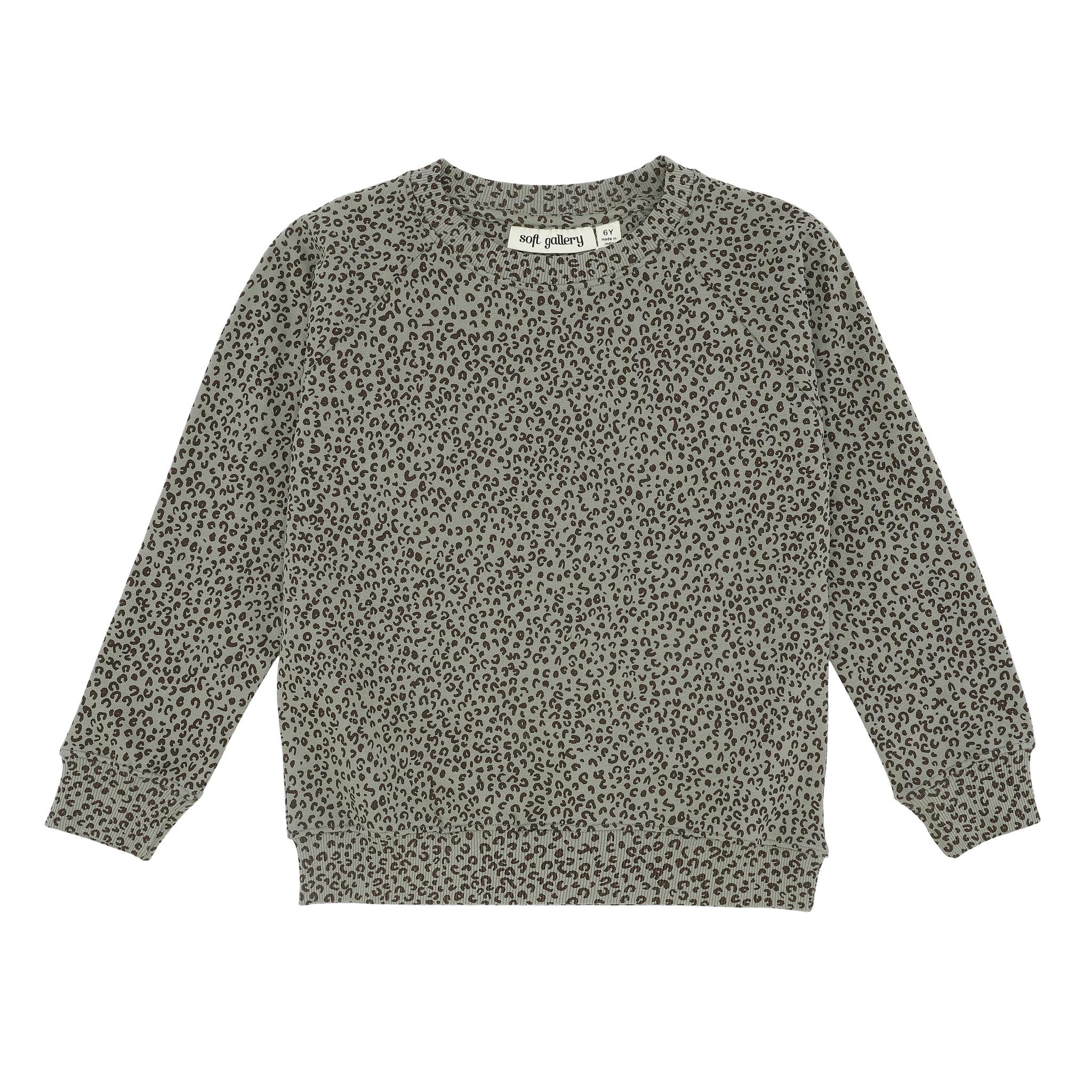 Chaz sweatshirt - Shadow / AOP Leospot-1
