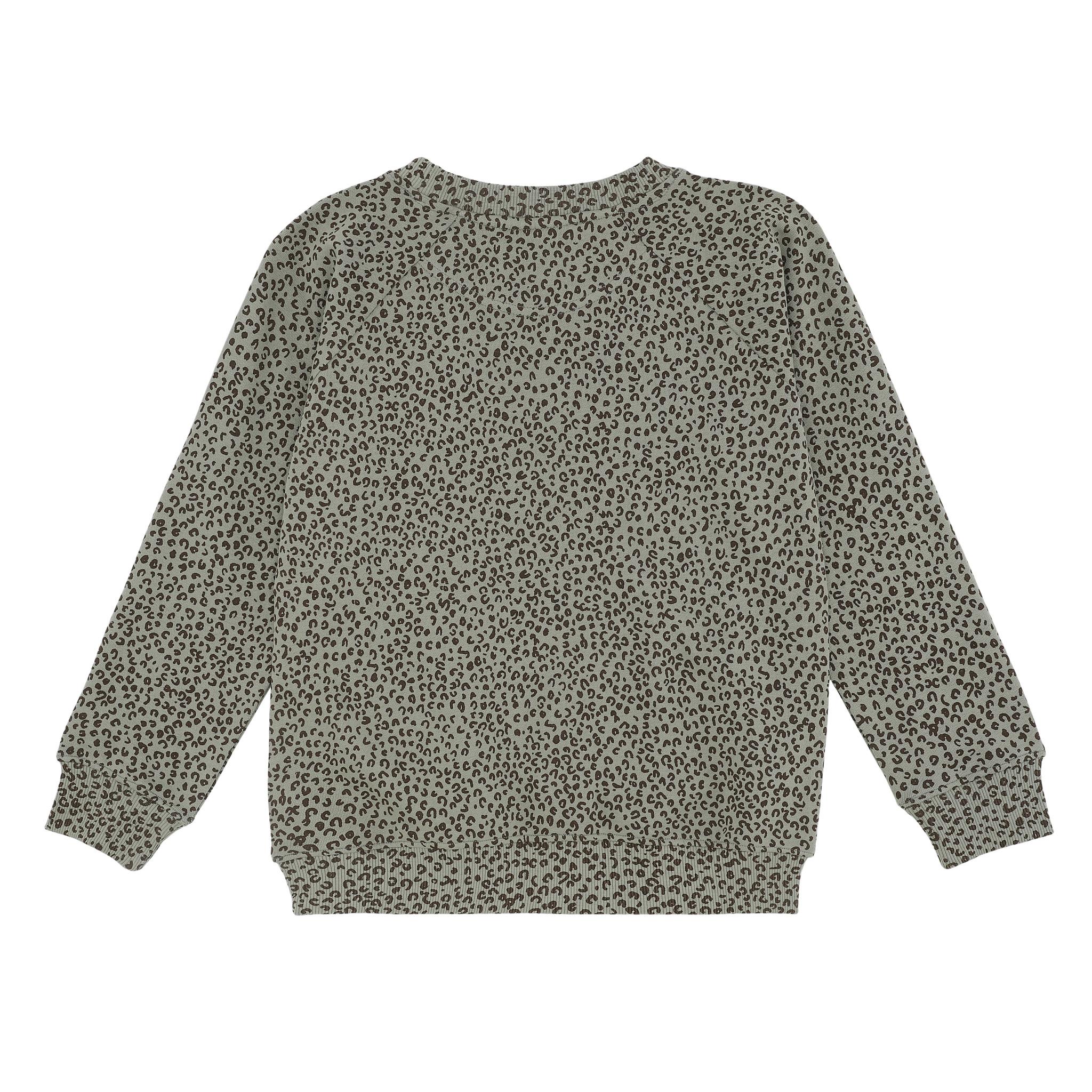 Chaz sweatshirt - Shadow / AOP Leospot-3