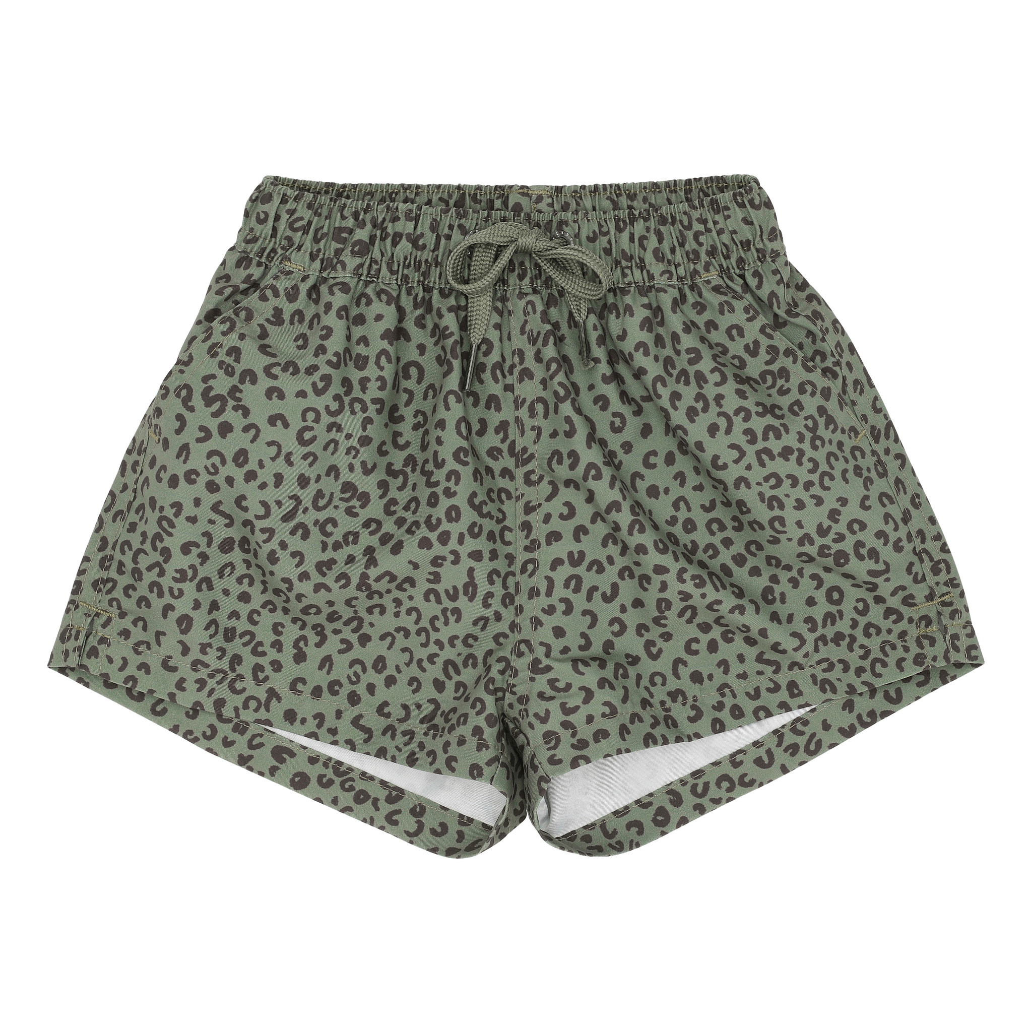 Dandy swimpants - Oil Green / AOP Leospot-1