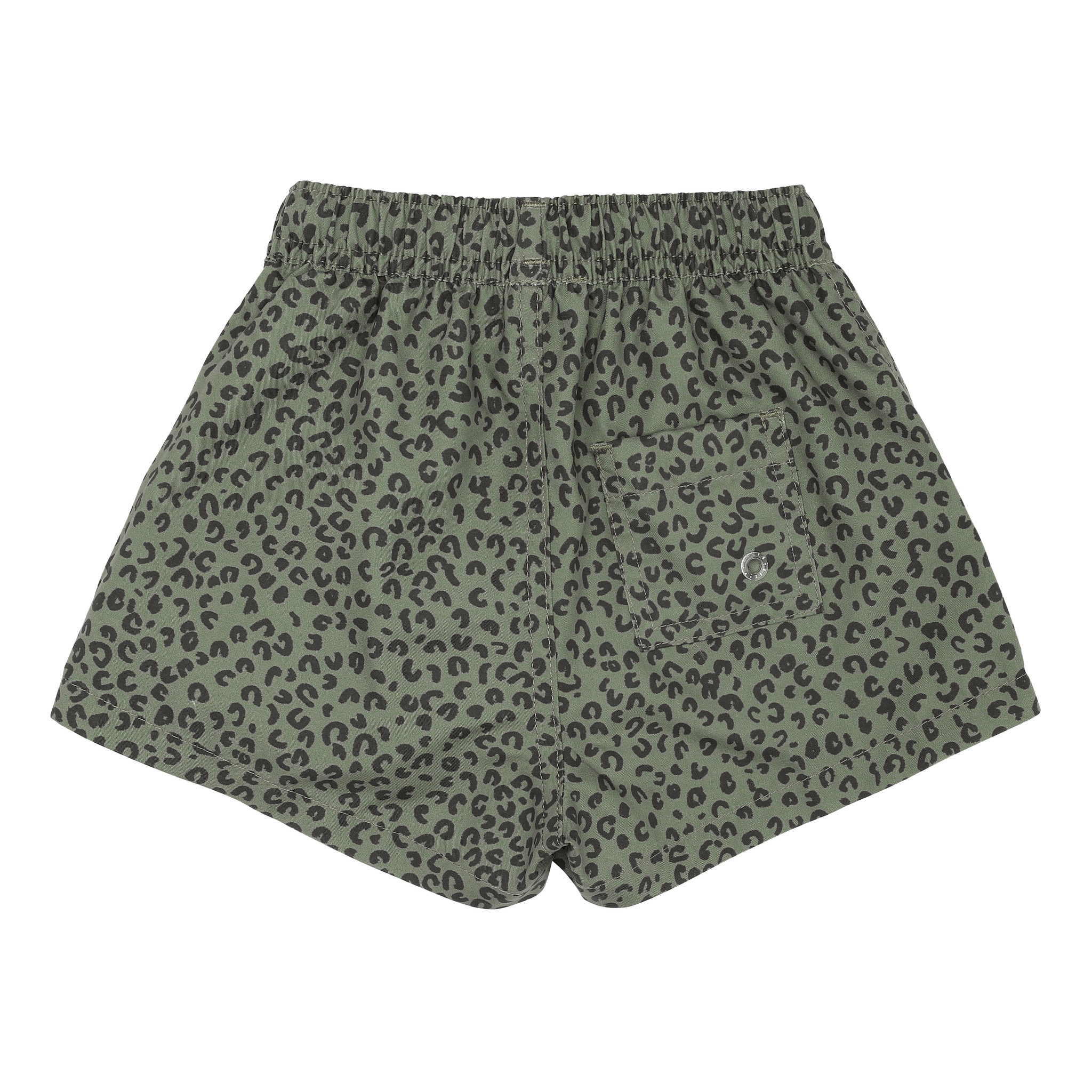Dandy swimpants - Oil Green / AOP Leospot-3