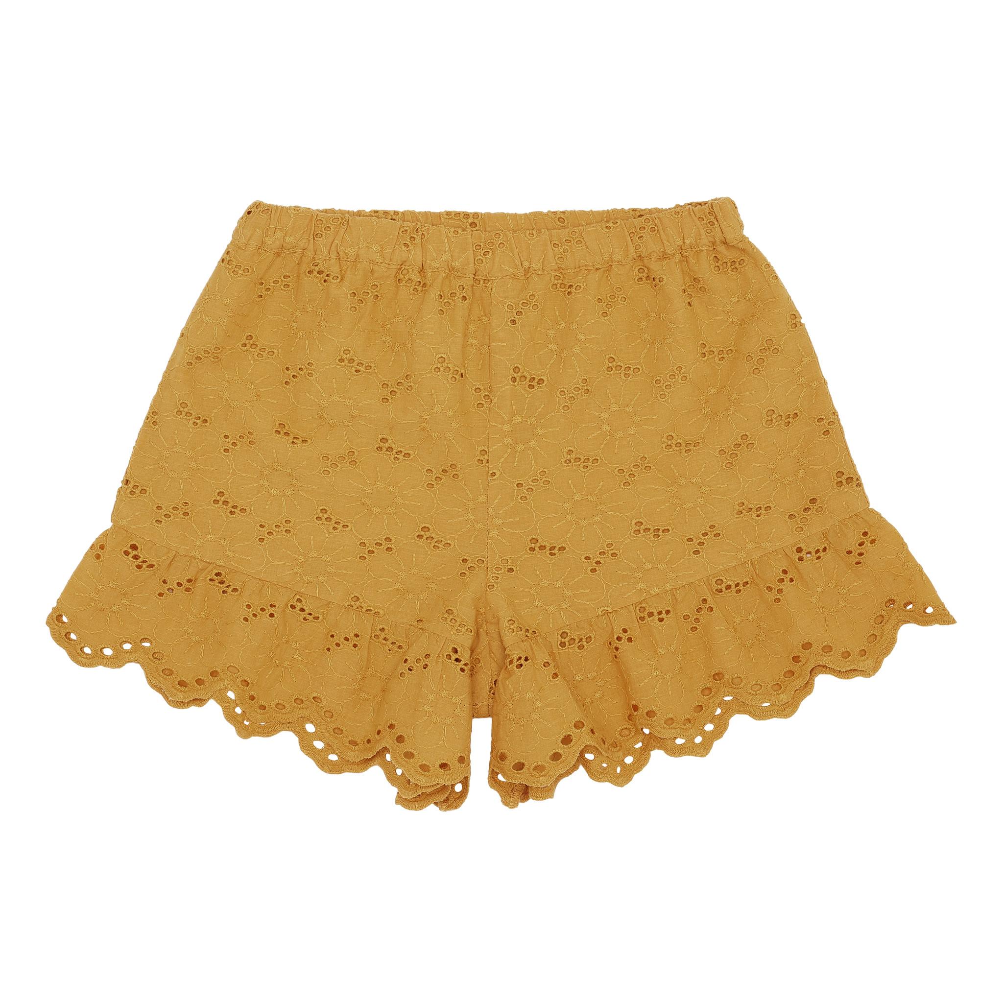 Florie shorts - Sunflower-1