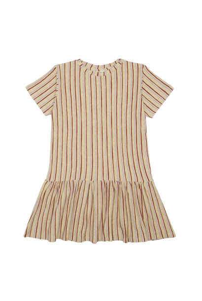Doris dress - Jojoba / AOP Fringe