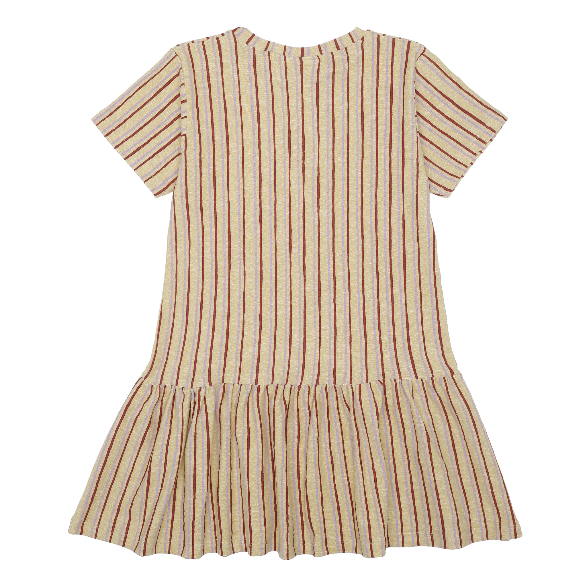 Doris dress - Jojoba / AOP Fringe-3