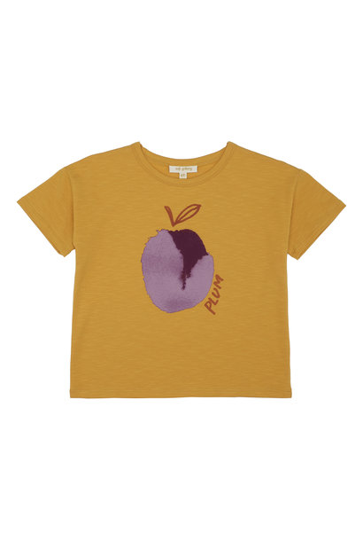 Dharma T-shirt - Sunflower / Plum