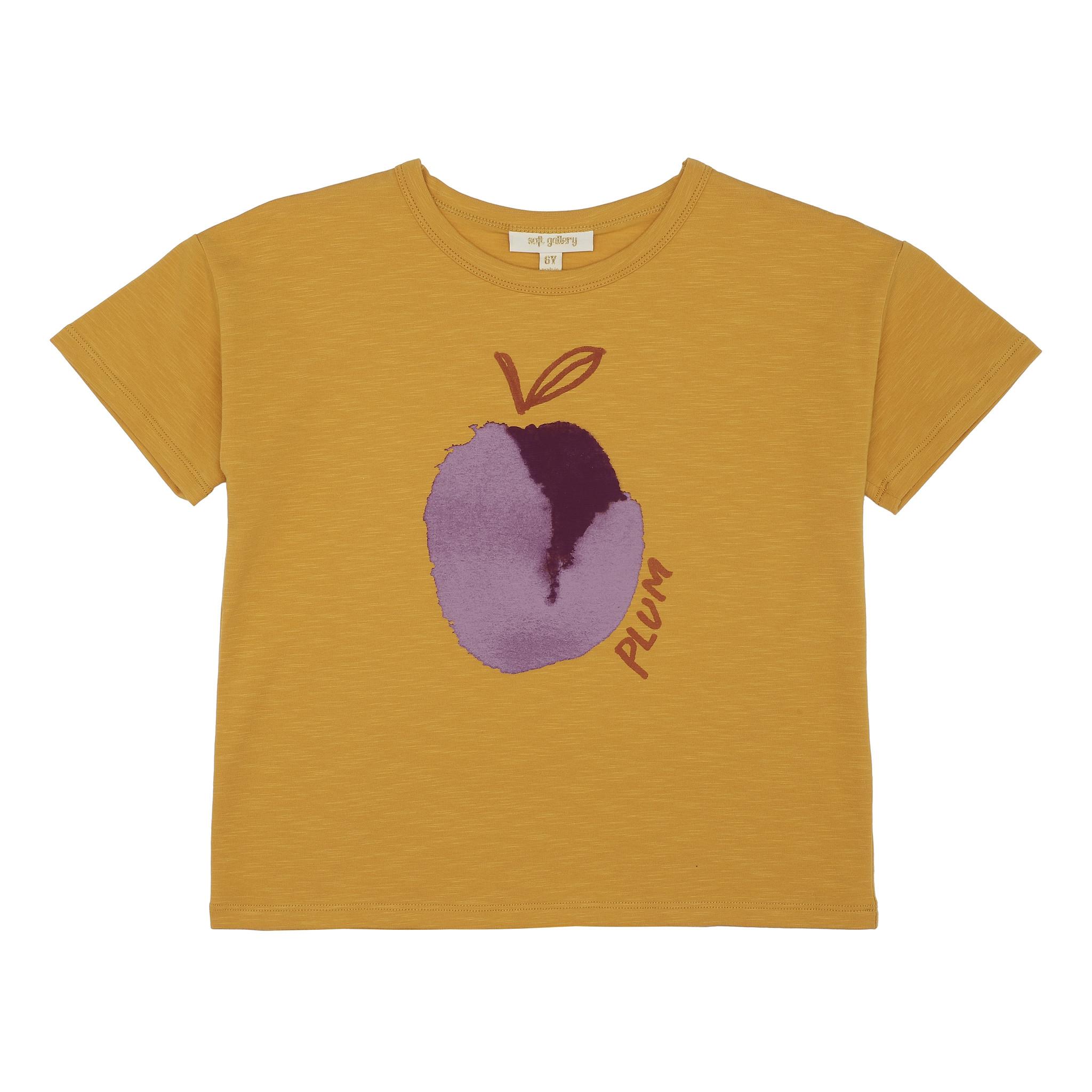Dharma T-shirt - Sunflower / Plum-1