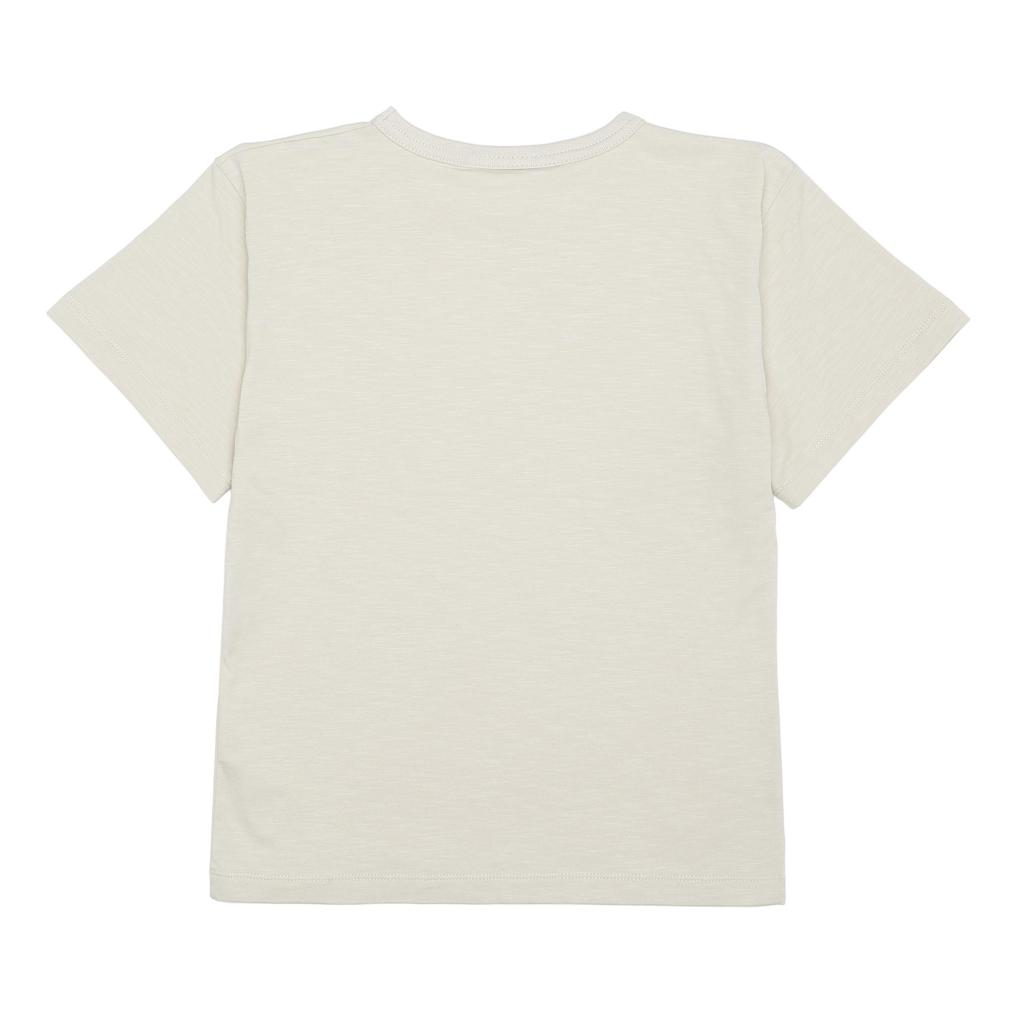 Asger T-shirt - Oyster Gray / Hancock-3