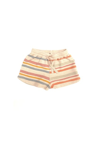 Terry shorts - Stripe