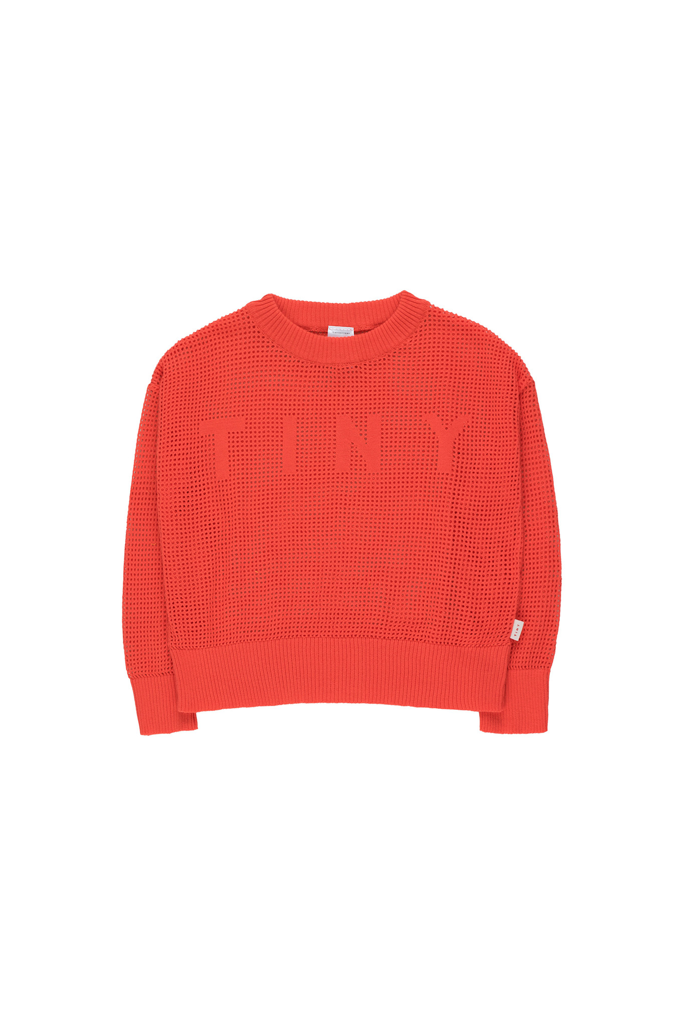 TINY CROP SWEATER - Red-1