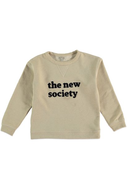 The New Society sweatshirt