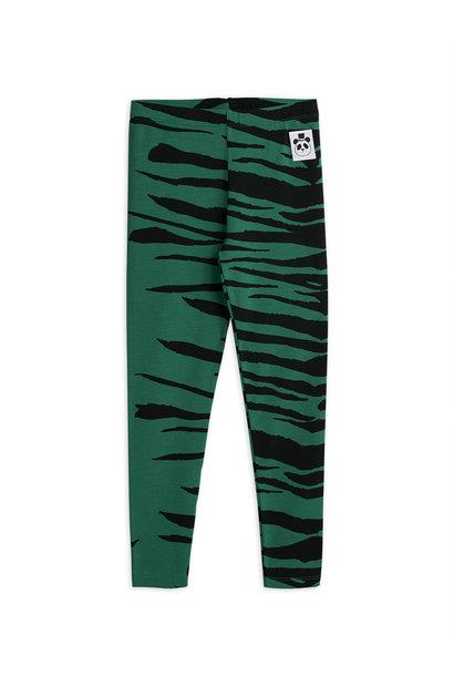 Tiger leggings - Green
