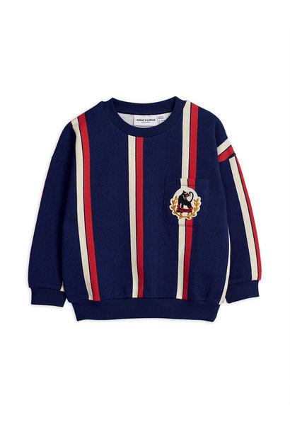 Stripe sweatshirt - Blue