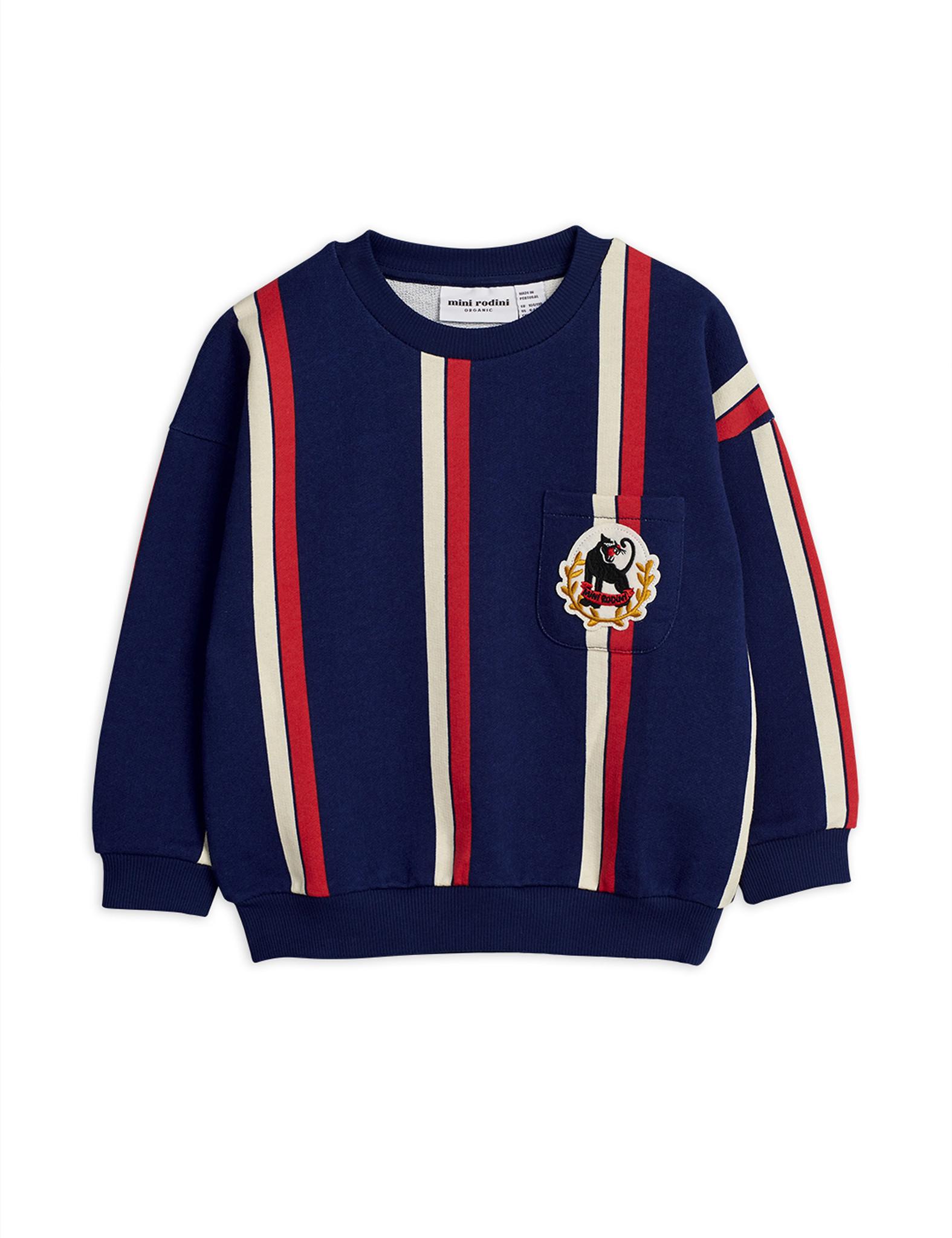 Stripe sweatshirt - Blue-1