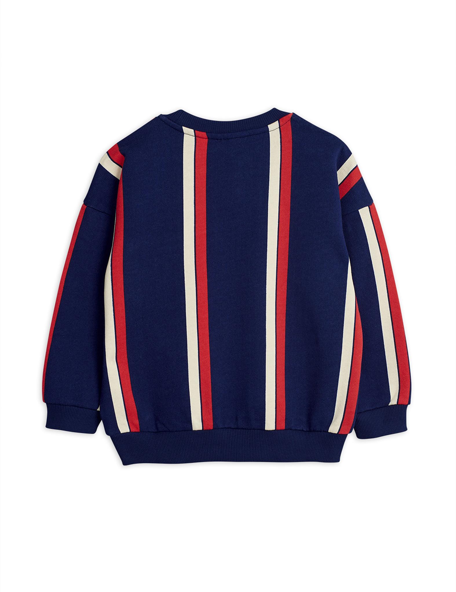 Stripe sweatshirt - Blue-3