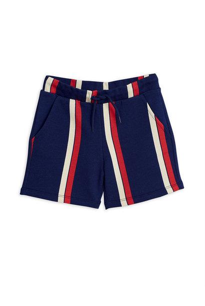Stripe sweatshorts - Blue