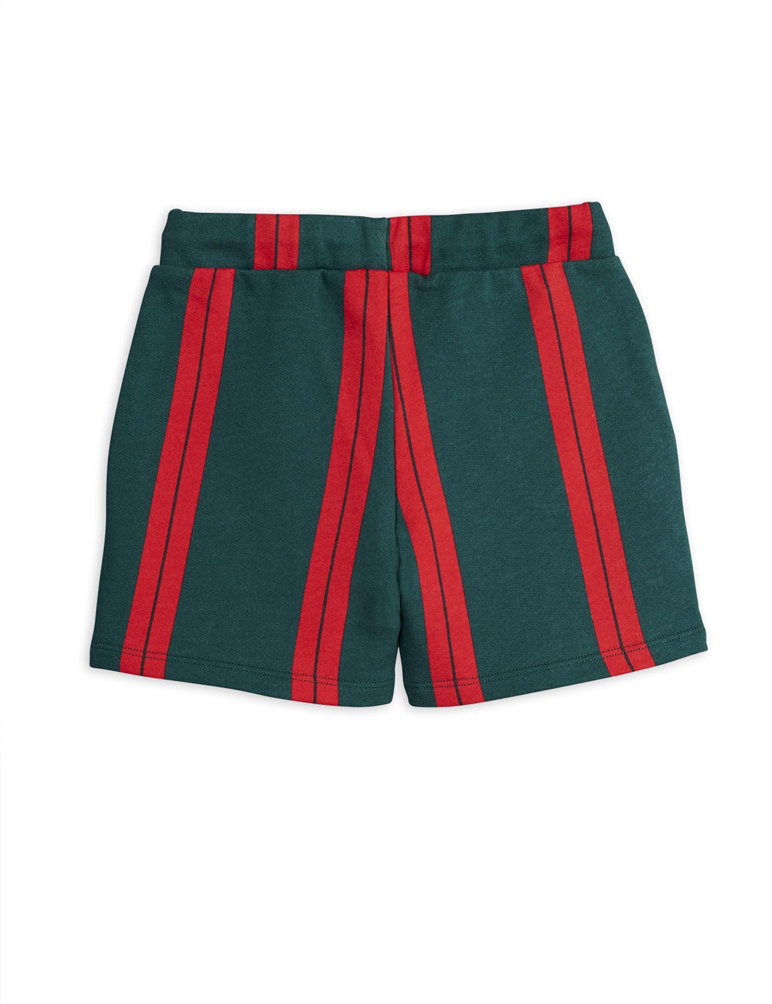 Stripe sweatshorts - Green-2