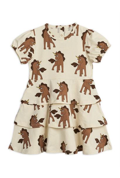Unicorns aop dress - Offwhite