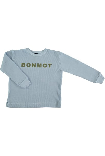 T-shirt long sleeve BONMOT - Light Blue